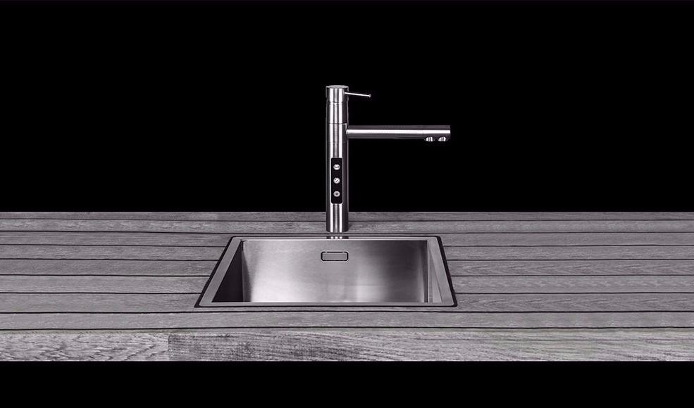 Splinterny Alt i én vandhane: Brus, kogende vand og iskoldt vand ML46