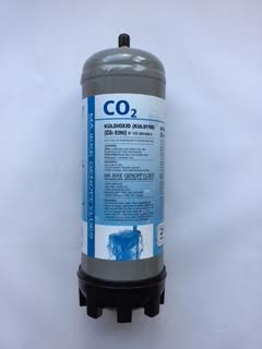 Botella desechable de Co2 1.3 Kg.