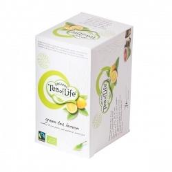 Green the w / lemon, Organic y Fairtrade, 4x20 letras
