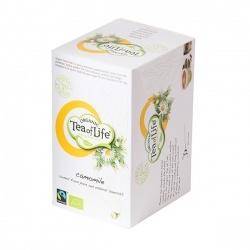 Chamomile, Organic and Fairtrade, 4x20 letters