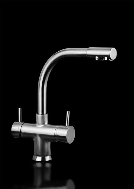Sparkling 17i with tap 5 mechanical chrome fixture