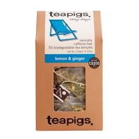 Teapigs Lemon & Ginger (temples) 50 pcs.