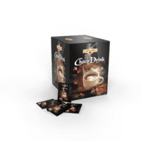Caprimo Chocolate drink in letters of 25 grams x 100 pcs
