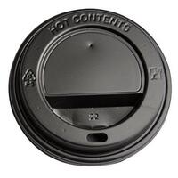 Low black for cardboard cups 8 oz 250 Ml Ø80 1 ct 1000 pcs