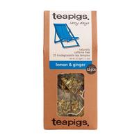 Teapigs Lemon & Ginger (temples) 15 pcs.