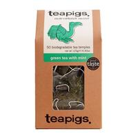 Teapigs Green Tea with Mint (temples) 50 stk.